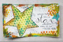 Stars cards & tags / by Debi Pursley