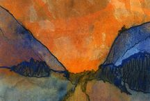 Emile Nolde / Emil Nolde  7 August 1867 – 13 April 1956)was a German-Danish painter and printmaker. He was one of the first Expressionists