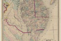 Delaware Maps / Vintage maps, some new of Delaware