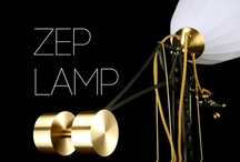 Zep Lamp /  A completely hand made desktop lamp, inspired by early 20th century Zeppelin airships.