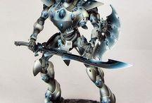 The fate of eldar / Warhammer 40k artwork and miniatures