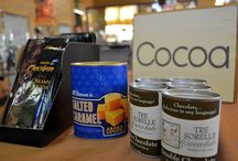 Cocoa, Cocoa, and more Cocoa! / Wide variety of flavored cocoas to keep you warm and cozy on winter nights!  Or enjoy by the campfire!