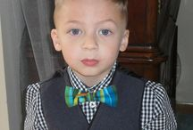 Young People wearing Monica Maria bow ties