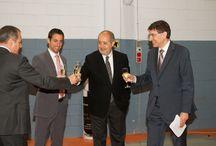 Visita Conseller Puig a IDESCO / Visita a la fábrica de IDESCO por parte del Conseller d'Empresa i Ocupació Felip Puig coincidiendo con los actos de conmemoración de nuestro 40 Aniversario!