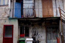 case a ballatoio o di ringhiera e social housing