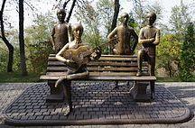 """Монументальные """"The Beatles"""" / О скульптурных группах, посвящённых """"The Beatles"""""""
