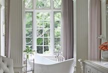 Rub a dub dub! / Beautiful bathrooms and bathtubs I love.
