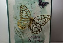 Butterfly/Dragonfly Thinlit Cards