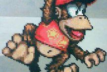 Hama Beads Donkey Kong