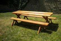 Redwood Picnic Table / by Daniel Bagdazian