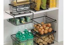 Корзины для хранения / Корзины металлические для хранения продуктов