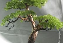 Beaded &Wire Tree