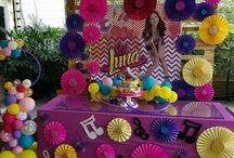 SOY LUNA BIRTHDAY PARTY IDEAS!!