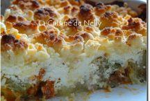 Crumble courgette chorizo