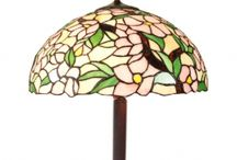 Tiffany Floor Lamps / We're confident you'll fall in love with the Tiffany style lamps we've included in our selection, they have a timeless appeal that will enhance almost any type of interior design or decor, adding a complementary touch of elegance to an already ornate room, or bringing a subtle projection of color to a more contemporary style.From their first appearance to the present day, Tiffany style lamps ......See more at-  http://tiffanylightingcompany.co.uk/tiffany-floor-lamps-13-c.asp