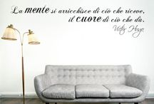 parete scritte
