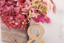 table numbers at weddings - inspiration