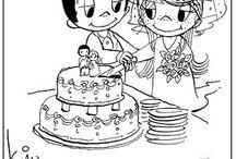 love is... cake