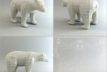 3d / wireframe