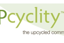 Upcycled products and ideas from UPcyclity™  / UpCycling is when one re-purposes used or discarded materials to a higher value. UpCycling closes the recycling loop.
