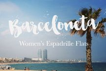 Women's Espadrille Flats - Barceloneta by Viscata / Discover Barceloneta — Viscata's comfy and natural espadrille flats for women. Our collections are named after beautiful mediterranean coastal towns and are all handcrafted in Spain.