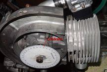 Wespenblech Archiv: Vespa Zylinderkopf: Kompressionsvolumen auslitern