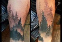 Baum- Landschaft