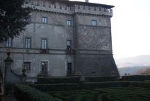 La Tuscia e castello Ruspoli.  / La Tuscia ha più di 100 unità tra castelli e fortificazioni. In Tuscia there are more than 100 castles. #scoprirelatuscia #Italydifferent