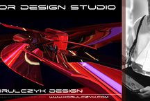 RED FUTURISTIC SPACE DESIGN