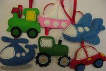 giocattoli di feltro