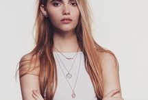Necklace Layering / We love to see how you layer your necklaces! Silver Jewellery | Gold Jewellery | Rose Gold Jewellery