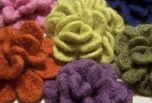 Crochet -- Flowers / by Susan Hodges