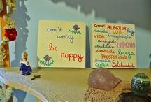 Frases e palavras / Porque decorar com frases e palavras é tudo de bom! #words