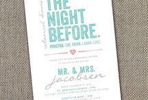 Weddings...Rehearsal Dinner / by Sue Miller