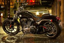 Motorcycles and Routes / Get your motor runnin', head out on the highway! Looking for adventure, in whatever comes our way!
