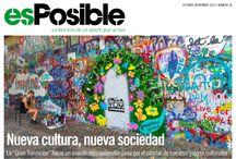 revista esPosible nº 38, octubre-noviembre de 2013. Nueva cultura, nueva sociedad / #culturaambiental