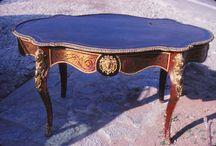 Antiquaria / Muebles y objetos antiguos vendidos en su momento en mis diferentes  actividades de compra venta de antigüedades.