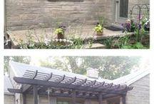 outside pagodas