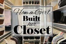 closets and organization