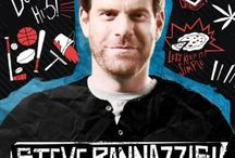 Steve Rannazzisi / Steve Rannazzisi is in the FXX sitcom The League. In its 7th and final season Steve plays former fantasy football league commissioner Kevin MacArthur, the brother of Taco MacArthur. Steve is also a seasoned Stand-Up Comedian cutting his teeth nightly at the Comedy Store on Sunset Blvd. in Hollywood almost every night that he can between the family and his show tapings.
