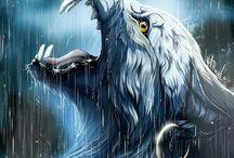 Magische Wölfe