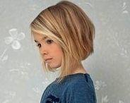 Maia's haircut