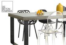 De Betonfabriek / concreet table