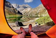 7 Peisaje montane vazute din cort