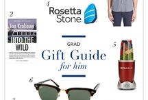 Grad Gift Guides / Great gifts for Grads 2016 / by VigLink