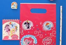 "Horse, Pony & My Little Pony party bag ideas / Party bag ideas for lovers of horses, ponies and ""My Little Pony."""