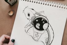 My pic / Tattoo sketches or something like that