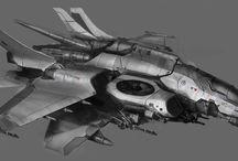 SW Sci-fi Ships
