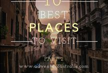 Where Should You Go This Year? / Fabulous travel destinations ... as told by some of our favorite travel bloggers! If you're looking for trip inspiration this year, here it is!
