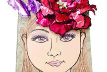 Stampendous and Add A Little Dazzle Metal Sheets / Creations using Stampendous and Add A Little Dazzle Metal Sheets